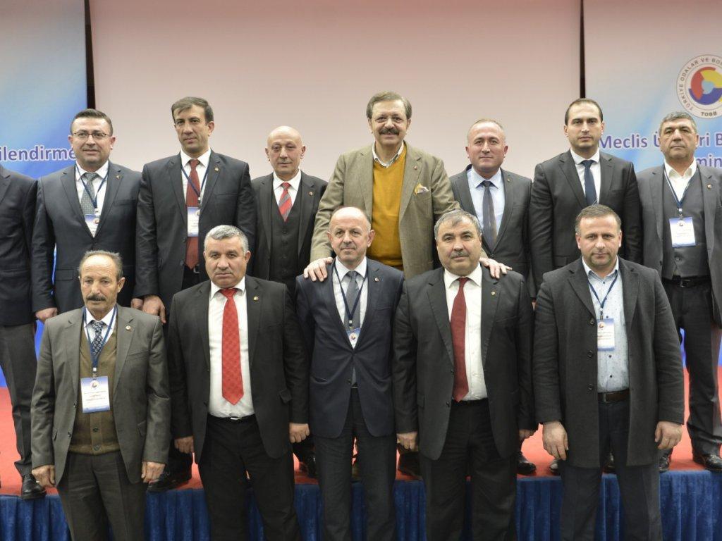 Meclis üyelerimiz eğitim seminerini tamamladı