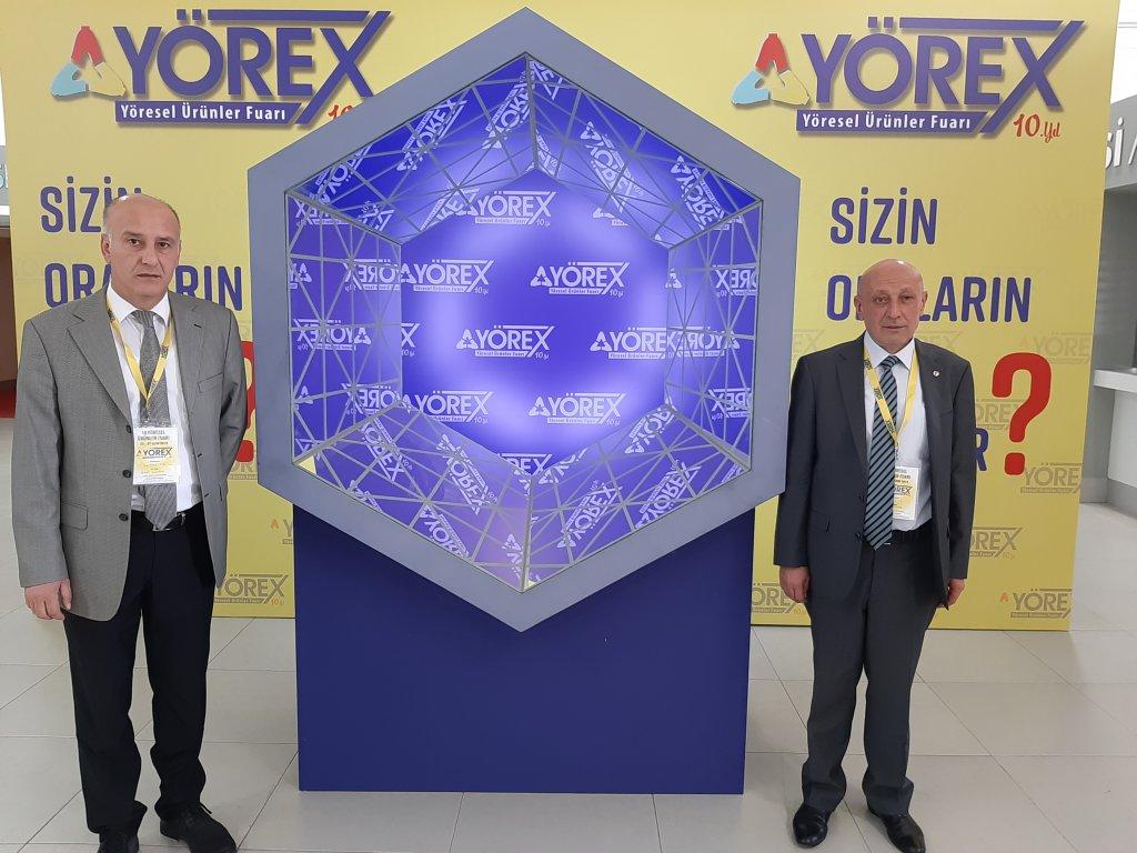 Kırıkkale Ticaret Borsası Yöresel Ürünler Fuarında (Yörex)